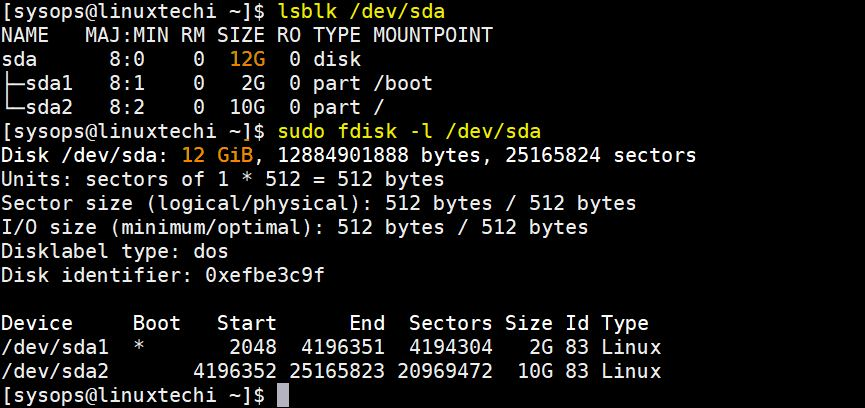View-OS-Disk-Size-Linux